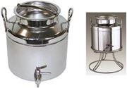 Immagine per la categoria Contenitori inox per olio
